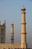 agra india lokaliserade mahal mausoleumtaj Arkivbild