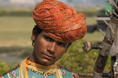 Agra, India - November 2011 Stock Afbeeldingen