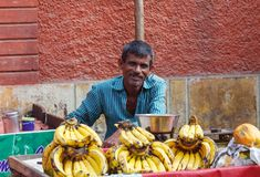 Traditional Trade in India stock photo