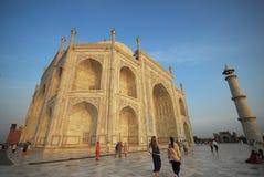 Agra India Taj Mahal royalty-vrije stock afbeeldingen