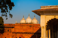 agra indu Agra Fort Obrazy Royalty Free