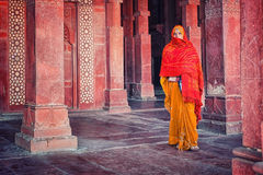 Agra kvinna Arkivbilder