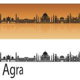Agra linia horyzontu Obrazy Royalty Free