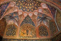 agra O complexo histórico e arquitetónico de Sikandra o túmulo do imperador Akbar de Mughul Foto de Stock Royalty Free