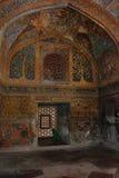 agra O complexo histórico e arquitetónico de Sikandra o túmulo do imperador Akbar de Mughul Fotos de Stock Royalty Free