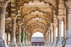 Agra rewolucjonistki fort Obraz Royalty Free