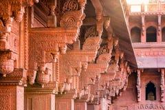 Agra rewolucjonistki fort Zdjęcia Royalty Free