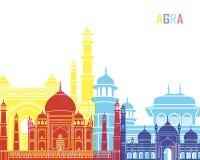 Agra-Skylineknall Lizenzfreie Stockfotografie