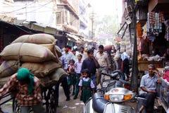 Agra street Stock Photos