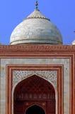 agra taj mahal meczetowy indu Zdjęcia Royalty Free