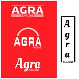 Agra typography set, flat designs. EPS file available. see more images related royalty free illustration