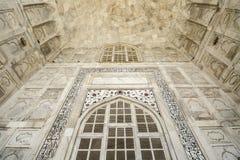 Agra Uttar Pradesh, Indien - Maj 2016: Inre i Taen Royaltyfri Foto