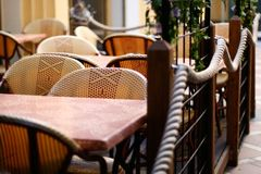 Agradável, café Foto de Stock