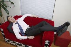Agradável e relaxed Fotografia de Stock