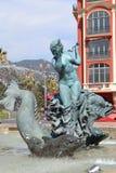 Agradável (França) - quadrado de Massena Foto de Stock Royalty Free