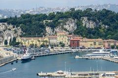 Agradable (Cote d'Azur) foto de archivo libre de regalías