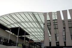 agradable de la mirada de la construcción del tejado y hermoso fuertes Fotografía de archivo libre de regalías