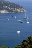Agradable, mar Mediterráneo de Francia Foto de archivo libre de regalías