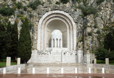 Agradable - monumento de guerra Imagen de archivo libre de regalías