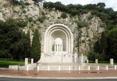 Agradable - monumento de guerra Fotos de archivo libres de regalías