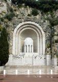 Agradable - monumento de guerra Fotografía de archivo