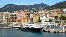 Agradable - Port de Nice Foto de archivo libre de regalías