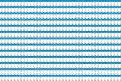 Agrafe bleue Photographie stock