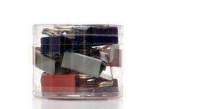 agrafe de bac de bureau photo libre de droits