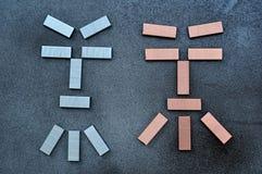 agrafes Image stock