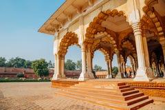 Agrafort in Agra, India royalty-vrije stock afbeelding