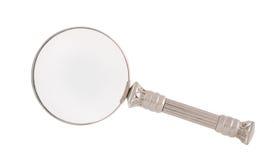 agrandissement en verre Photo stock