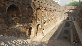 Agrasen ki Baoli - India stock video