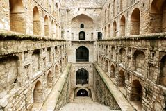 Agrasen ki Baoli, New Delhi Obrazy Royalty Free