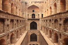 Agrasen ki Baoli Step Well, Ancient Construction, New Delhi Royalty Free Stock Photo