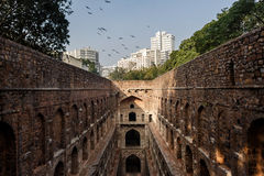 Agrasen ki Baoli w Delhi Zdjęcia Stock