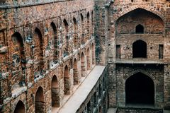 Agrasen ki Baoli w Delhi, India Fotografia Royalty Free