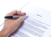 Agreement Royalty Free Stock Photography