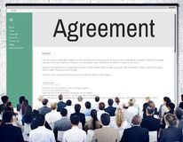 Agreement Alliance Collaboration Deal Partnership Concept Royalty Free Stock Image