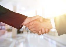 Agreement. Background business businessman caucasian close-up closeup Stock Image