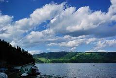 Agreement on Bicaz Lake Royalty Free Stock Photo