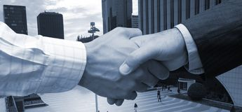 Agreement in the big city Royalty Free Stock Photography
