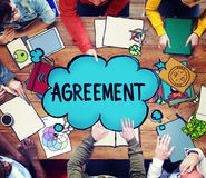 Agreement Collaboration Connection Cooperation Deal Concept Stock Image