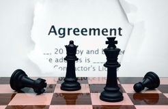 Agreement concept Stock Photography