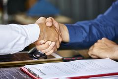 Agreement concept royalty free stock photos