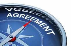 Agreement stock image