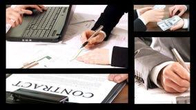Agreement, Split Screen stock video