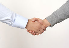 Agreement of success Stock Image