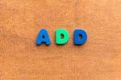 agregue Imagen de archivo libre de regalías