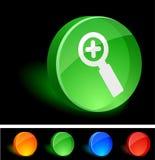 Agregue el icono. ilustración del vector
