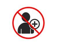 Agregue el icono del utilizador Muestra de Avatar del perfil Vector ilustración del vector